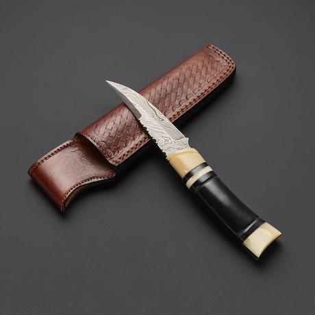 Damascus Skinner Knife // SK-S01