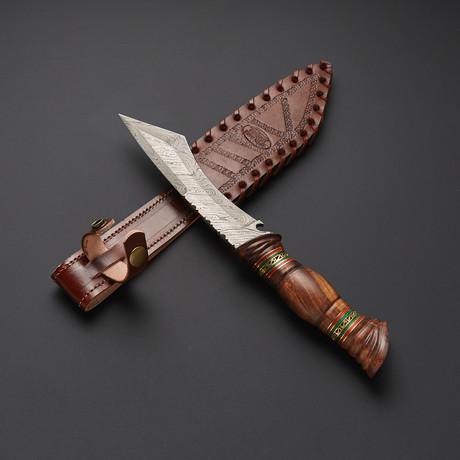 Damascus Tanto Knife // TNT-S01