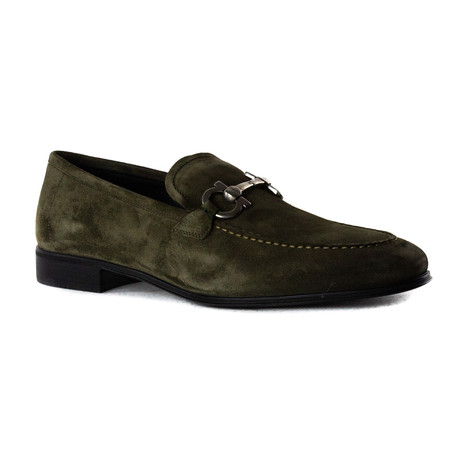 Caleb Loafers // Dark Olive Green (UK: 5)