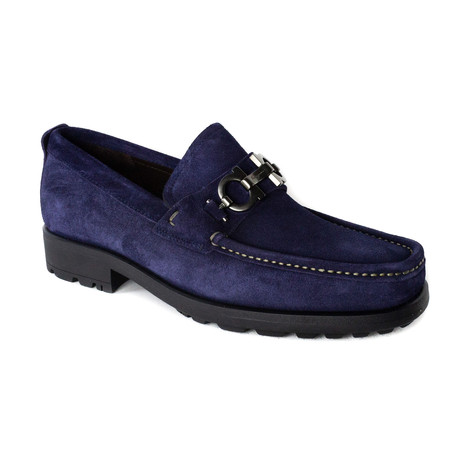 Miles Loafers // Blue (UK: 5)
