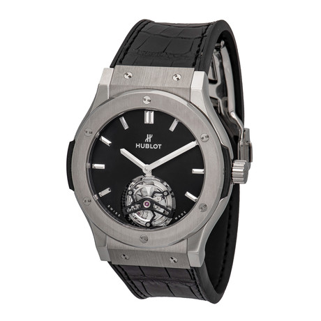Hublot Tourbillon Manual Wind // 505.NX.1170.LR