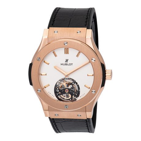 Hublot Tourbillon Manual Wind // 505.OX.2610.LR