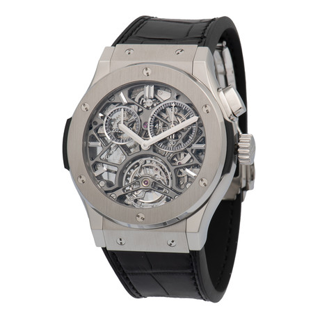 Hublot Tourbillon Manual Wind // 506.NX.0170.LR