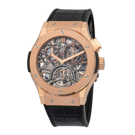 Hublot Tourbillon Manual Wind // 506.OX.0180.LR