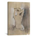 "Contemporary Draped Figure I // Ethan Harper (18""W x 26""H x 0.75""D)"