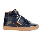 Herick Leather High-Top Sneakers // Blue (US: 8)