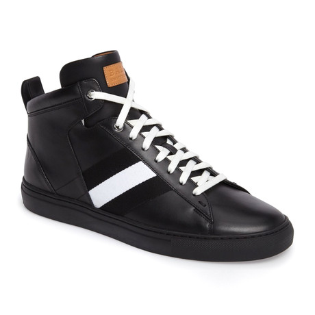 Hedern Calf Plain High Top // Black (US: 7)