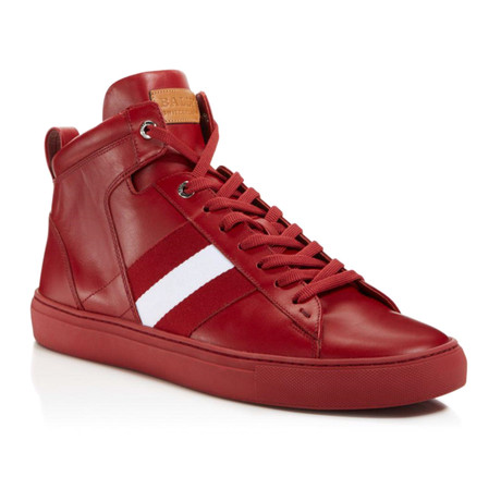 Hedern Calf Plain High Top // Red (US: 7)
