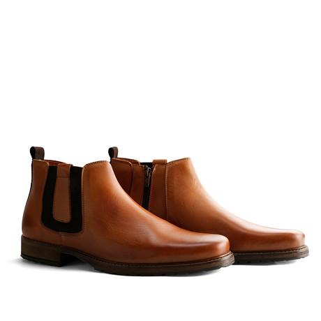 London Chelsea Leather // Cognac (Euro: 40)