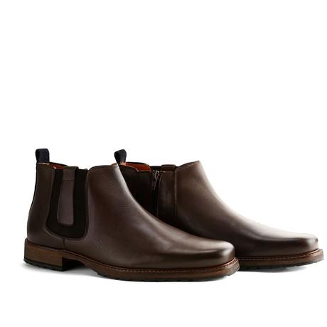 London Chelsea Leather // Dark Brown (Euro: 40)