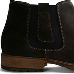 London Chelsea Suede // Dark Gray (Euro: 47)
