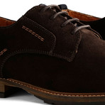 London Low Suede // Dark Brown (Euro: 43)