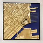 "San Francisco, California // Wood (12"" x 12"")"