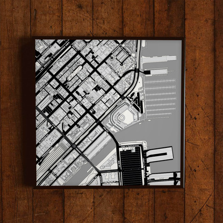 "San Francisco, California // Print (12"" x 12"")"