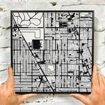 """Chicago, Illinois // Wrigley Field // Print (12"""" x 12"""")"""
