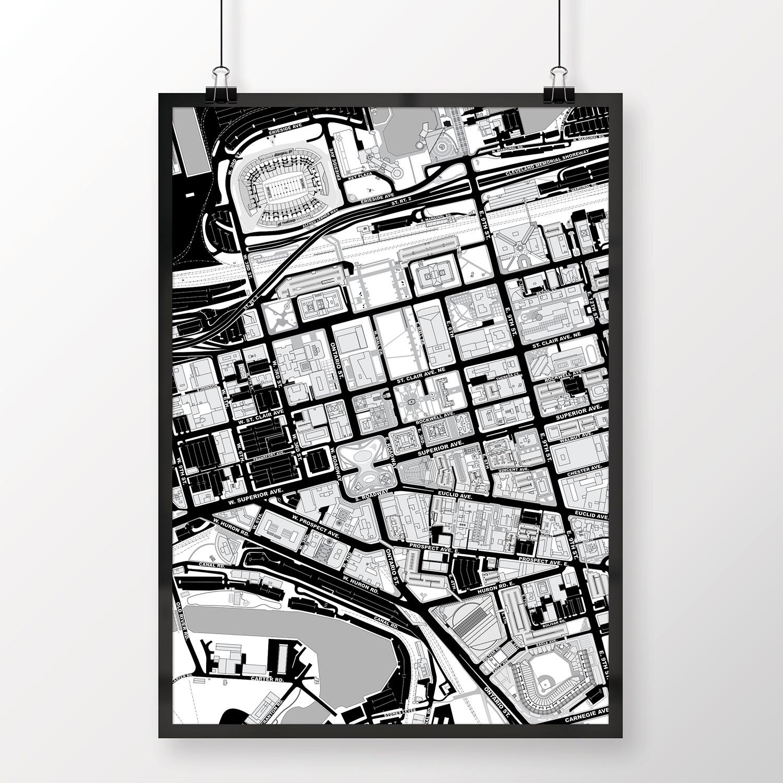 Cleveland, Ohio // Print (12