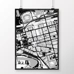 "Cleveland, Ohio // Print (12"" x 18"")"