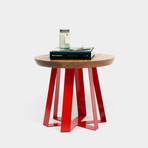 ARS 22 Table // Oak (Green Powder Coat)