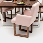 C2A W Chair // Linen Blend (Moss)