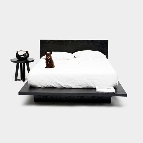 SQB BK Queen Bed // Black