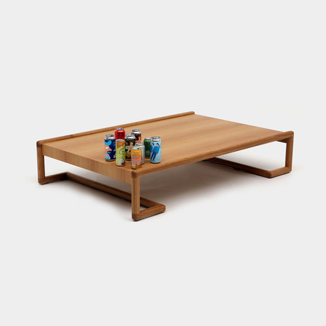 Untitled U3X Table // White Oak