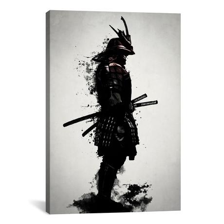 """Armored Samurai by Nicklas Gustafsson (18""""W x 26""""H x 0.75""""D)"""