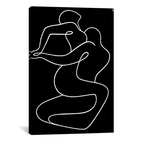 """Tango // Lia Chechelashvili (12""""W x 18""""H x 0.75""""D)"""