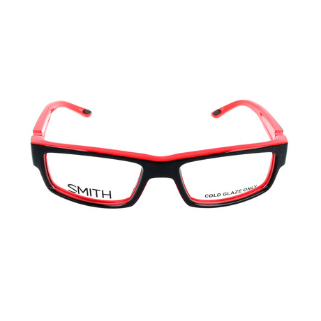 Men's Odyssey MV5 Optical Frames // Black + Red