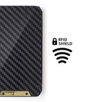 Stealth 3.0 X Wallet // 24 Carat Gold Plated