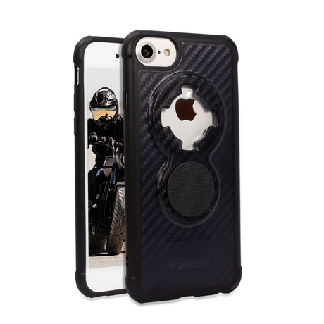 Crystal iPhone Case // Carbon Black (iPhone 6/7/8)