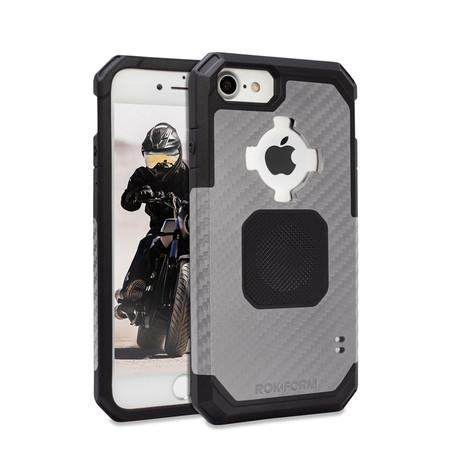 Rugged iPhone Case // Gun Metal (iPhone 6/7/8)