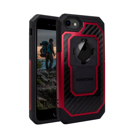 Fuzion Pro iPhone Case // Red (iPhone 6/7/8)