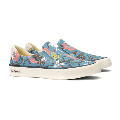Hawthorne Slip On Beachcomber // Blue Hibiscus (US: 7)