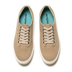 Hermosa Plimsoll Surfwash // Gravel (US: 10.5)