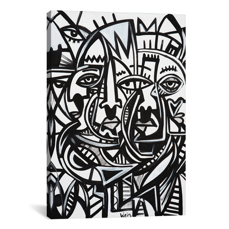 """Determined (18""""W x 26""""H x 0.75""""D)"""
