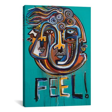 "FEEL! (18""W x 26""H x 0.75""D)"