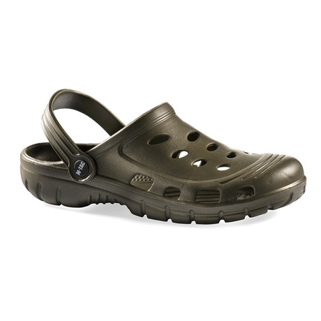 Rubber Slippers // Olive (Euro: 37)