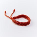 MosquitNo Nano-Tech Woven Bracelet // Set of 2 (Red)