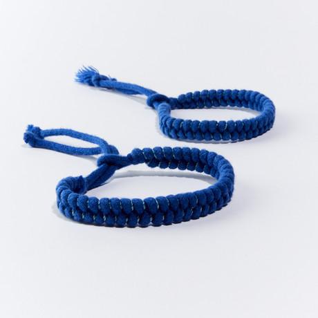 MosquitNo Nano-Tech Woven Bracelet // Set of 2 (Navy)