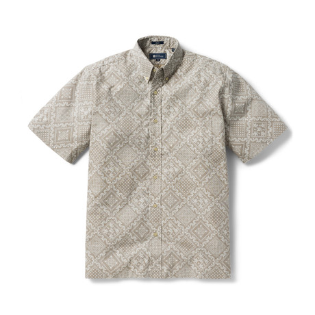 Diagonal Orig Lahaina Button Front // Coriander (XS)