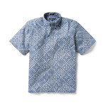 Diagonal Orig Lahaina Button Front // True Navy (S)