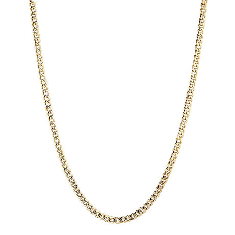 "Solid 10K Yellow Gold Miami Cuban Chain Necklace // 4.5mm (20"")"