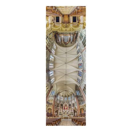 "Basilica Blessed Sacrament Buenos Aires, Argentina (4""W x 12""H x 0.5""D)"