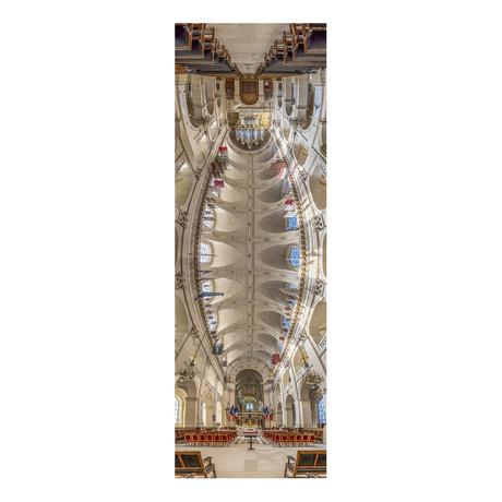 """Cathedrale Saint-Louis des Invalides, Paris, France (4""""W x 12""""H x 0.5""""D)"""