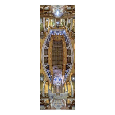 "Church Nazionale Argentina, Rome, Italy (4""W x 12""H x 0.5""D)"
