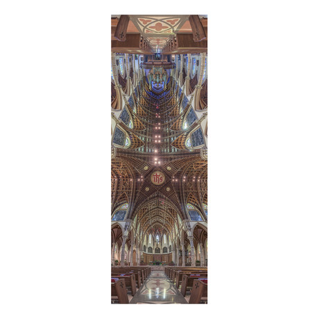 """Holy Name Cathedral, Chicago, Ill (4""""W x 12""""H x 0.5""""D)"""