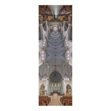 """Holy Rosary Cathedral Vancouver, Canada (4""""W x 12""""H x 0.5""""D)"""