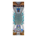 """Misioneros Oblatos de Maria Inmaculada, Mexico City (4""""W x 12""""H x 0.5""""D)"""