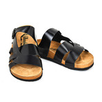 Zackary Sandals // Black (Euro: 40)