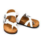 Spencer Sandals // White (Euro: 44)